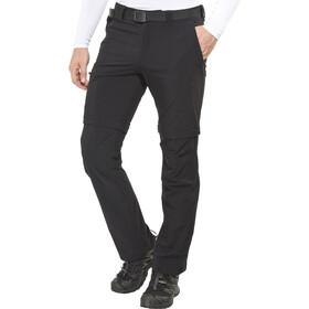 Maier Sports Tajo 2 Pantalones Zip-Off Hombre, negro